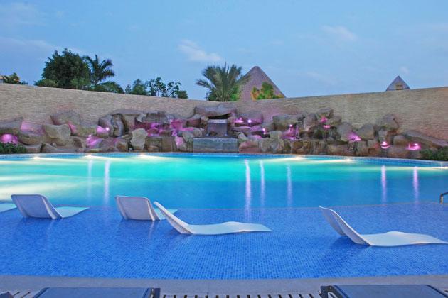 Le Méridien Pyramids Hotel Spa Simes S P A Luce Per L Architettura
