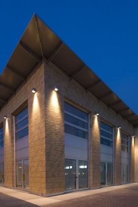 Office Building Simes S P A Luce Per L Architettura