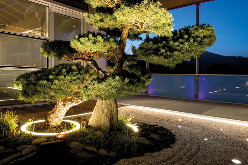 Illuminazione a binario a led in alluminio zen led arkoslight